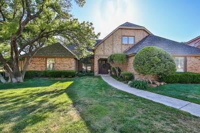 Lubbock Single Family Home Contingent: 9307 Utica Drive