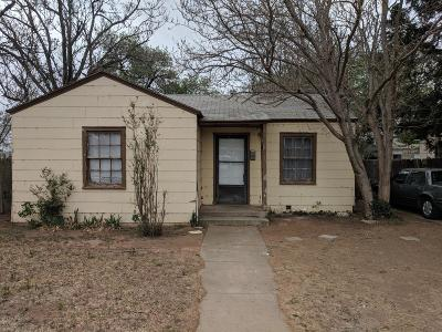 Lubbock County Single Family Home For Sale: 2013 38th Street