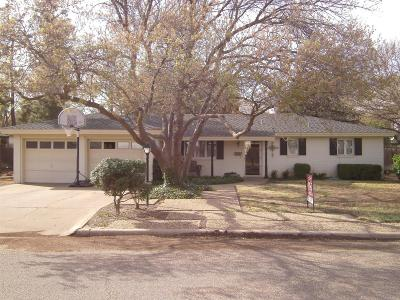 Abernathy Single Family Home Contingent: 506 Phillips Boulevard