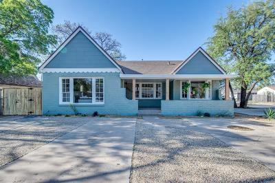 Single Family Home Under Contract: 2123 29th Street