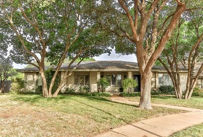 Lubbock Single Family Home For Sale: 4807 95th Street