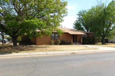Littlefield Single Family Home For Sale: 101 E 17th Street