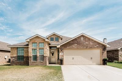 Lubbock Single Family Home Under Contract: 5706 110th Street