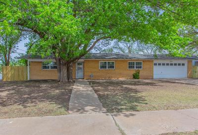 Lubbock Single Family Home For Sale: 4316 40th Street