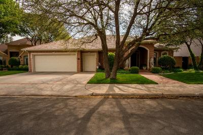 Lubbock Single Family Home Under Contract: 5010 91st Street