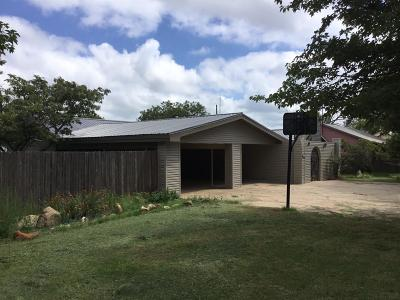 Crosbyton TX Single Family Home For Sale: $85,000