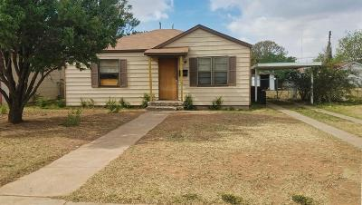 Lubbock County Single Family Home For Sale: 2007 61st Street