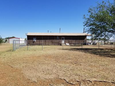 Slaton TX Single Family Home Under Contract: $35,000