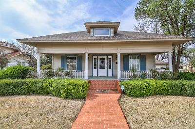 Single Family Home Under Contract: 513 W 9th