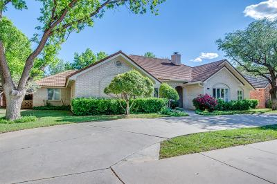 Lubbock Single Family Home For Sale: 4705 85th Street