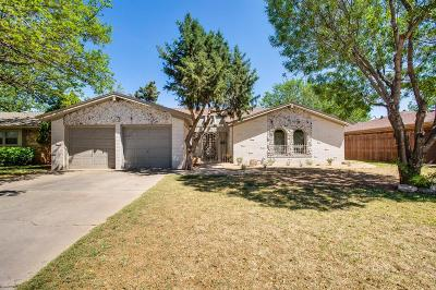 Single Family Home For Sale: 4506 62nd Street