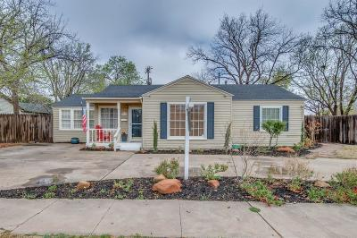Single Family Home For Sale: 3106 26th Street