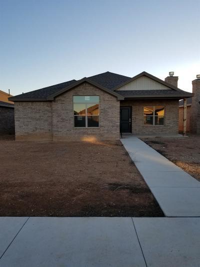 Lubbock Garden Home For Sale: 10401 Gardner Avenue