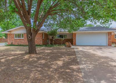 Single Family Home For Sale: 3601 55th Street