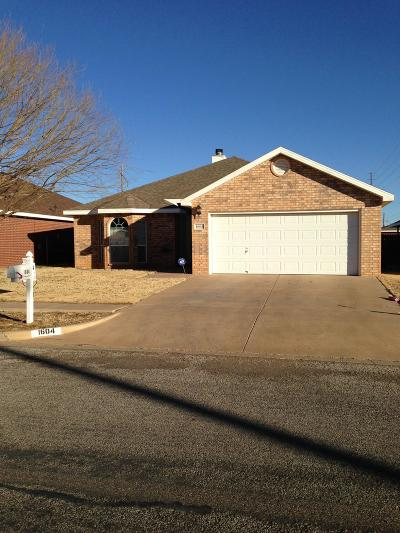 Lubbock County Single Family Home For Sale: 1604 75th Street