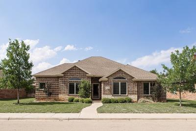 Lubbock Single Family Home Under Contract: 4110 124th Street