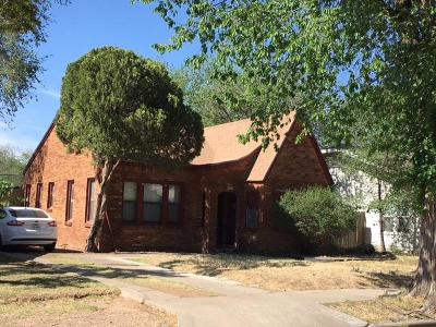 Lubbock County Single Family Home Under Contract: 2207 24th Street