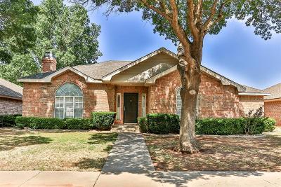 Lubbock Single Family Home For Sale: 8206 Colton Avenue