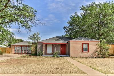 Lubbock Single Family Home For Sale: 2212 31st Street