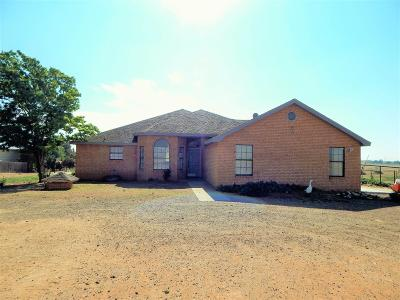 Lubbock Single Family Home Under Contract: 12112 N Farm Road 1264