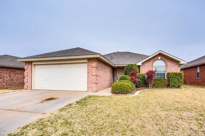 Lubbock TX Rental For Rent: $1,250