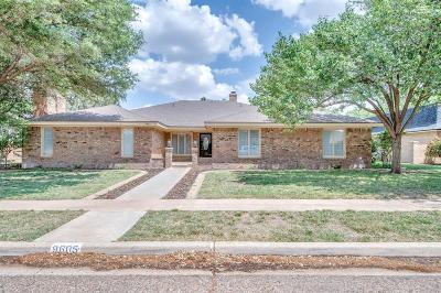 Lubbock Single Family Home For Sale: 9605 Utica Avenue