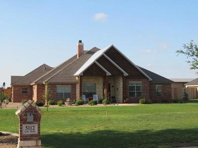 Lubbock Single Family Home For Sale: 5112 County Road 7640