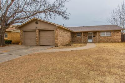 Lubbock Rental For Rent: 4508 60th Street