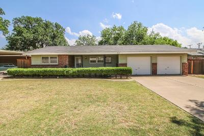 Lubbock Single Family Home For Sale: 3613 41st Street