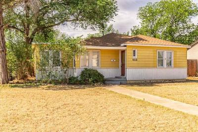 Lubbock Single Family Home For Sale: 2811 32nd Street