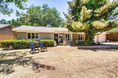 Lubbock Single Family Home For Sale: 3705 69th Street