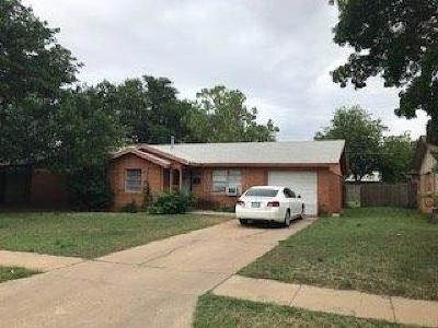 Single Family Home For Sale: 5215 45th Street