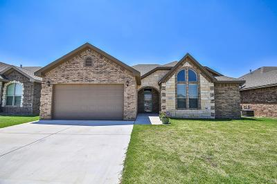 Lubbock Single Family Home For Sale: 6311 96th Street
