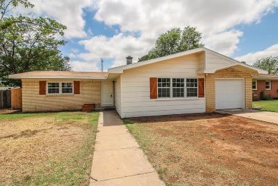 Lubbock Single Family Home For Sale: 4811 42nd Street