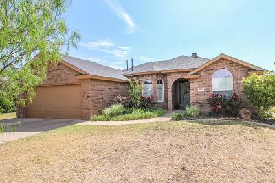 Lubbock Single Family Home For Sale: 9805 Grover Avenue