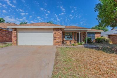Lubbock Single Family Home Under Contract: 6904 Hope Avenue