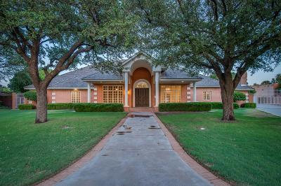 Lubbock TX Single Family Home For Sale: $829,000