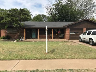 Lubbock Single Family Home For Sale: 6012 Ave V