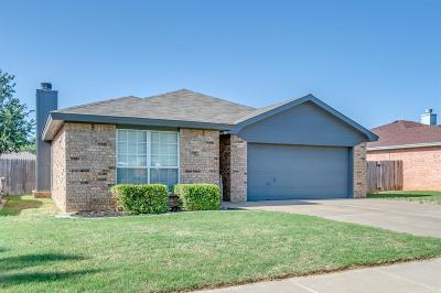 Lubbock Single Family Home For Sale: 2115 86th Street