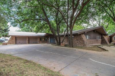 Lubbock Single Family Home For Sale: 4401 13th Street