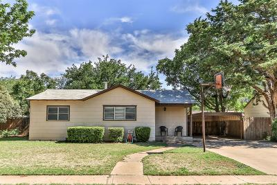 Lubbock Single Family Home For Sale: 2812 38th Street