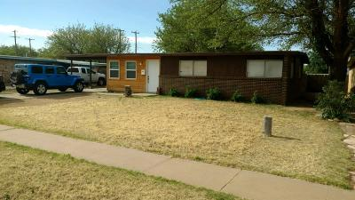 Lubbock Single Family Home For Sale: 2730 66th Street