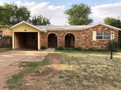 Single Family Home For Sale: 3408 Erskine
