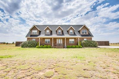 Shallowater Single Family Home For Sale: 7509 N County Road 1440
