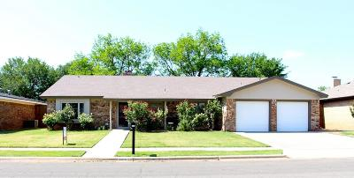 Lubbock Single Family Home For Sale: 3213 76th Street