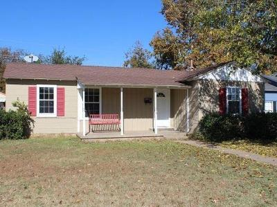 Lubbock TX Single Family Home Under Contract: $168,500