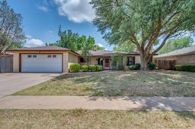Lubbock TX Single Family Home For Sale: $215,500