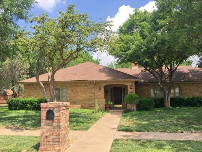Lubbock Single Family Home For Sale: 4916 76th Street