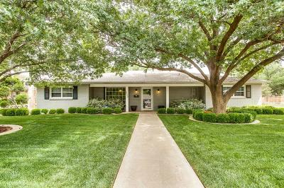 Lubbock Single Family Home Under Contract: 4802 11th Street