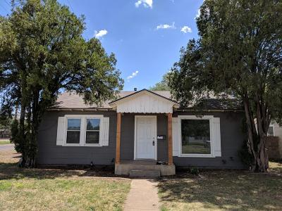 Lubbock Single Family Home For Sale: 3001 31st Street